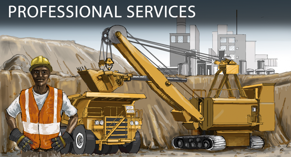 OBizR Professional Services Category Illustrations