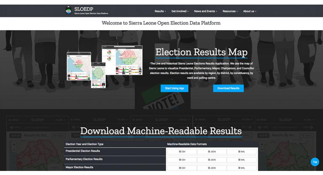 Open Elections Data Platform (OEDP)