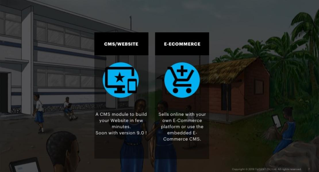 CMS, Website and E-Commerce